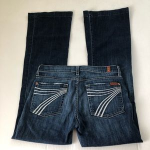 7 for all mankind Dojo Jeans, 27 x32